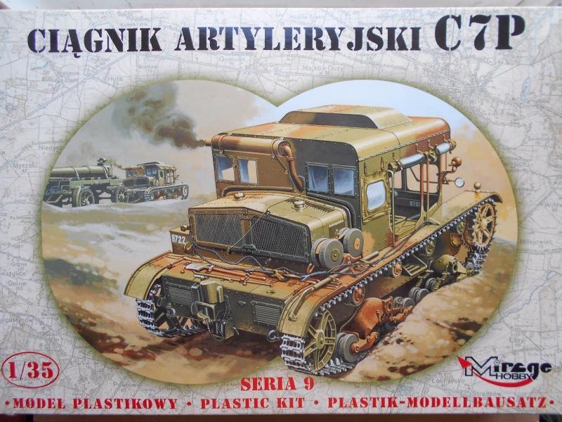 Обзор C7P Heavy Artillery Tractor 1/35 (Mirage Hobby №35901) 863c7fde4973