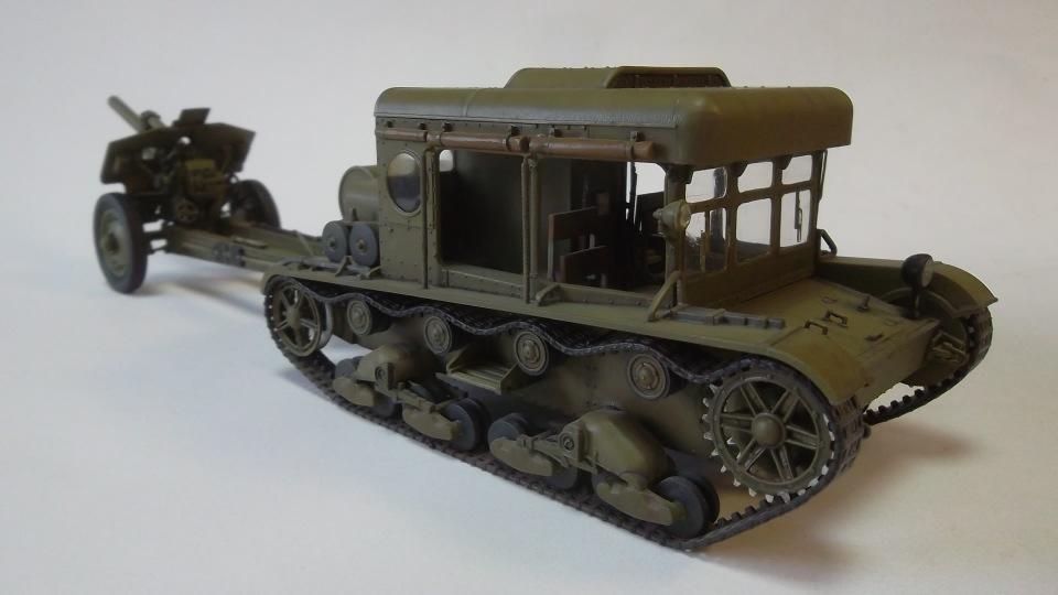 Тягач Т-26 / трофейный польский С7Р, 1/35, (Mirage hobby 35903). 45575e3b257f