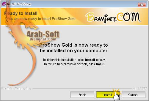 ادخل عالم الانتاج والاخراج من برامج نت ProShow Gold 4.1 71a0a33facef