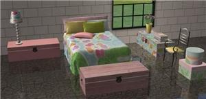 Спальни, кровати (деревенский стиль) - Страница 3 3d7053505a83