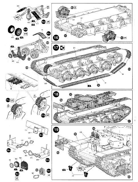 Обзор Т-35 Советский тяжелый танк, 1/35, (Звезда 3667). Cbc1d27a84f6