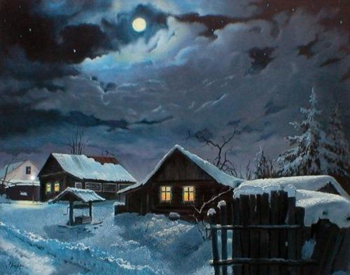 Магия ночи в живописи Bb115d374c10