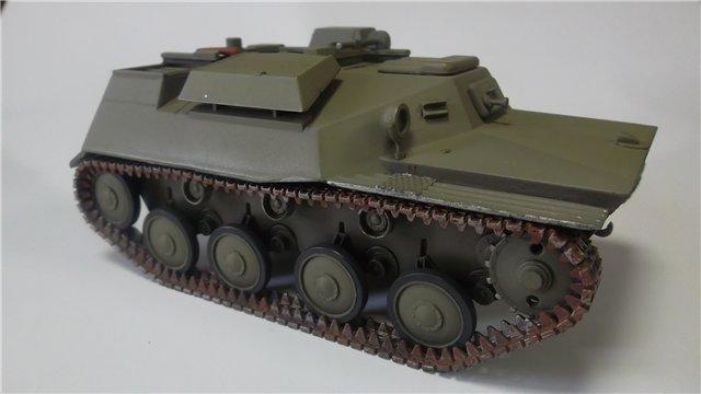 Катюша БМ-8-24 на Т-40, 1/35, (Старт) E80966e387f4