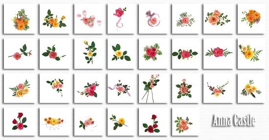 Клипарты  ::  Цветы-разные 228047576257