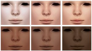 Скинтоны, лица, симы 9958c28c7425