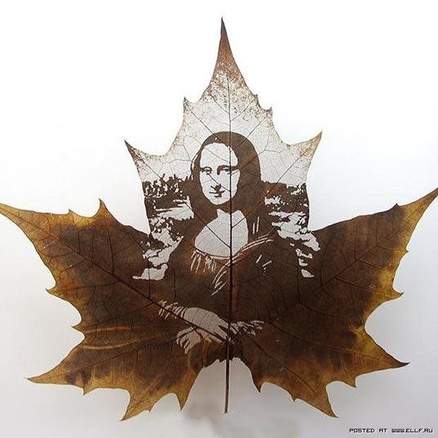 Портрет на кленовом листе 0b23cac55e53