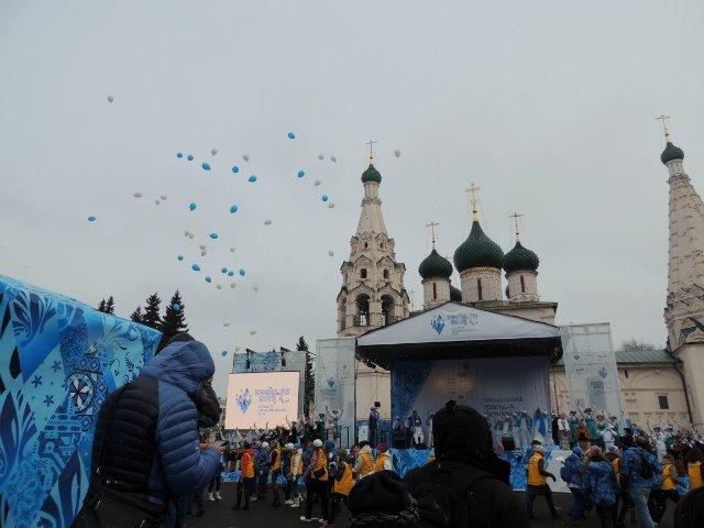 "Эстафета Паралимпийского огня ""Сочи 2014"" в г. Ярославле 47f5faaabde3"