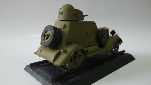 Бронеавтомобиль БА-20 Ж/Д, 1/35, (Старт). A9f9e96c044f