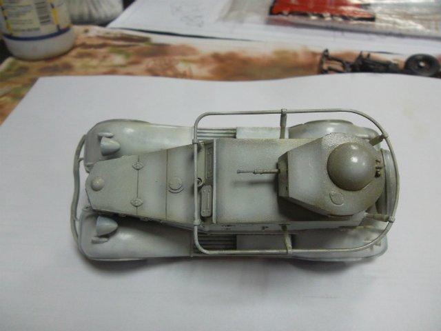 Бронеавтомобиль БА-20 Ж/Д, 1/35, (Старт). 1796fb63b164