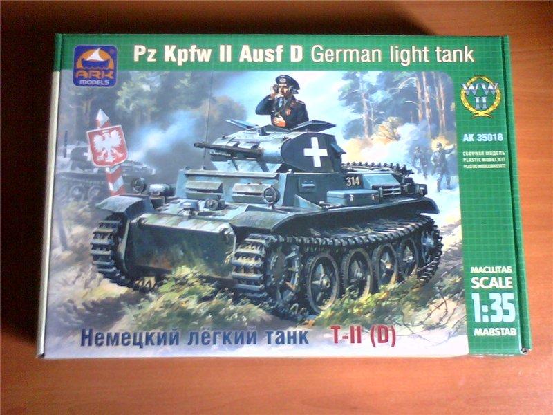 Pz.Kpfw.II Ausf.D 1/35 (Арк Модел) 57dfb1a3ef29