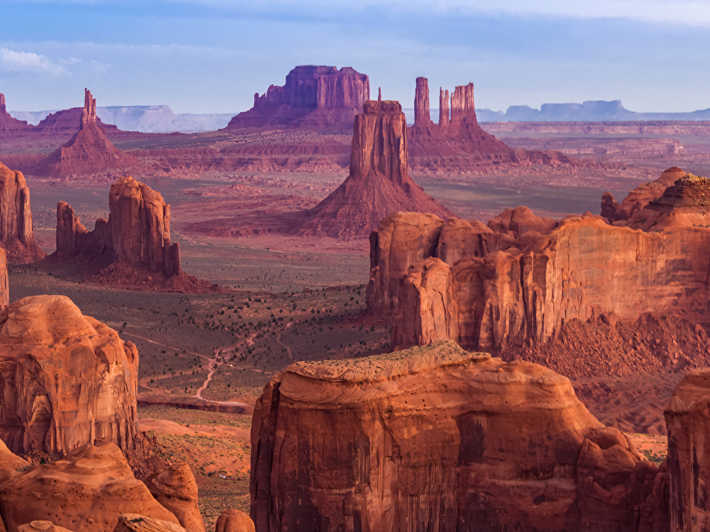 Los acantilados más espectaculares del planeta  Grand_Canyon_Park_USA_Parks_Crag_514944_1024x768