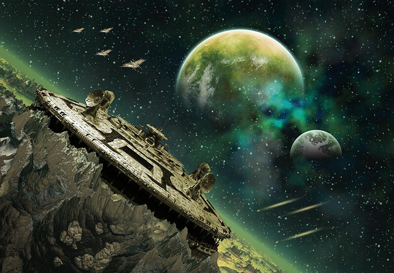 """Проект """"Капсула Времени"""" (автор - Наталья Эу) Planets_Ships_452727"""