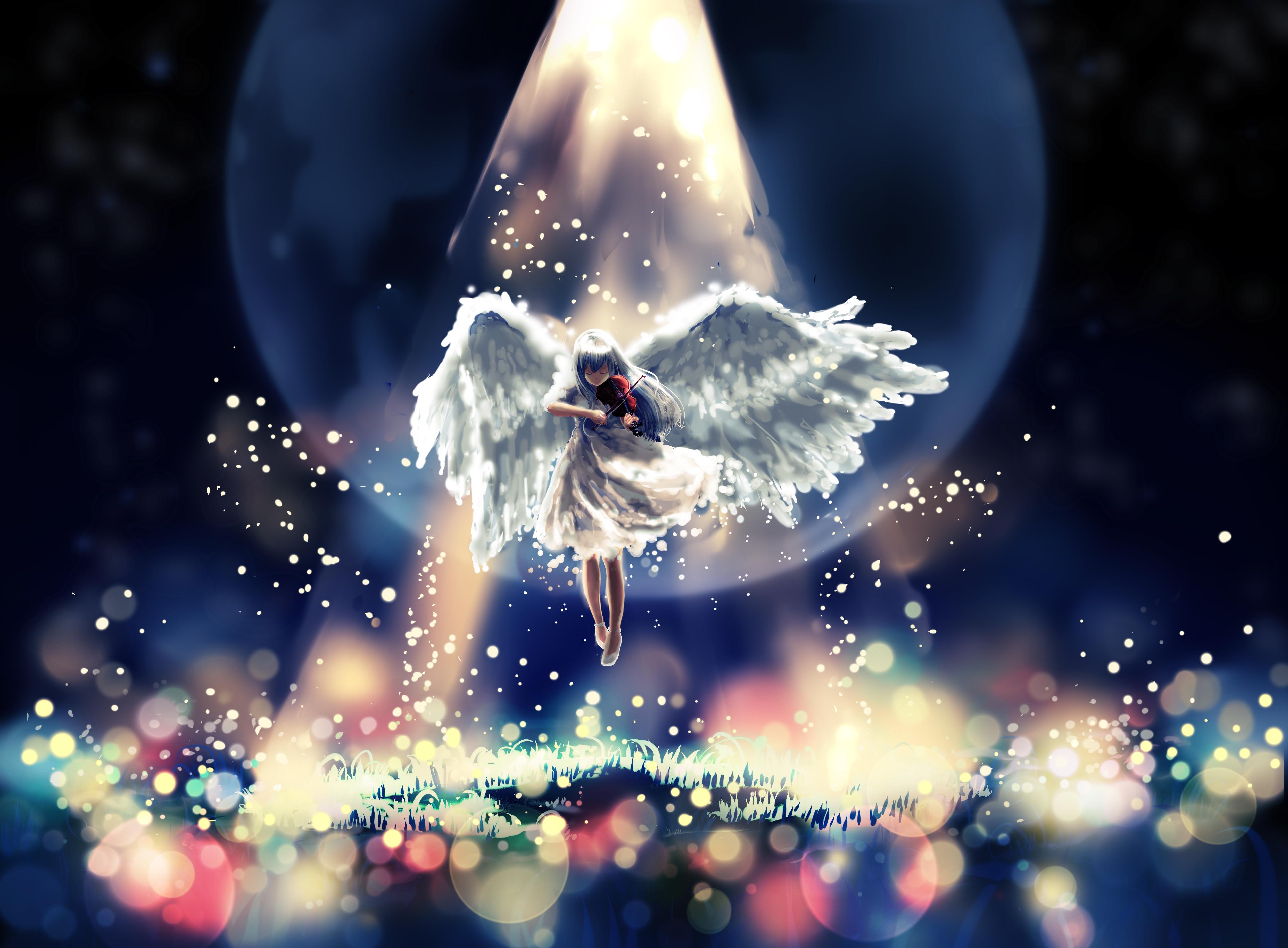 """""""Apportons notre lumière pour la paix dans le monde"""" - Page 2 410412-blackangel"""