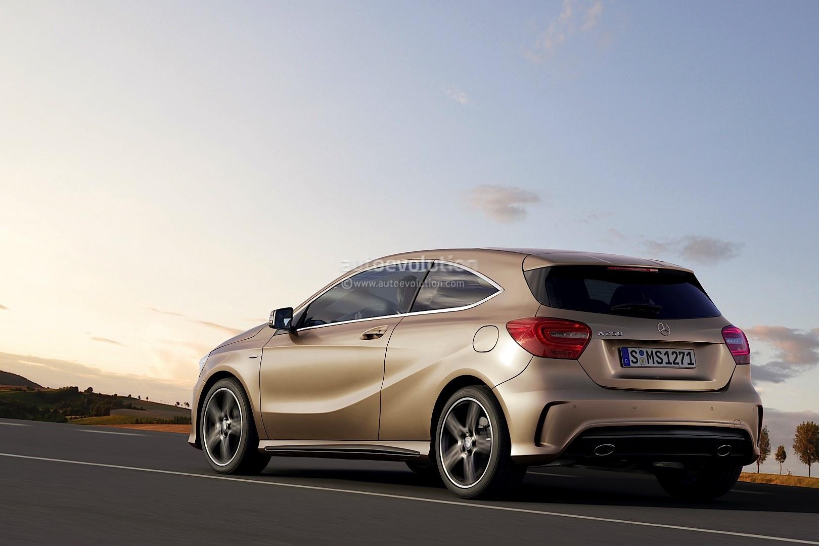 [Rumeurs]  Les futures Mercedes Classe A  (W176) - Page 3 W176-2013-mercedes-a-class-3-door-rendering-51521_1
