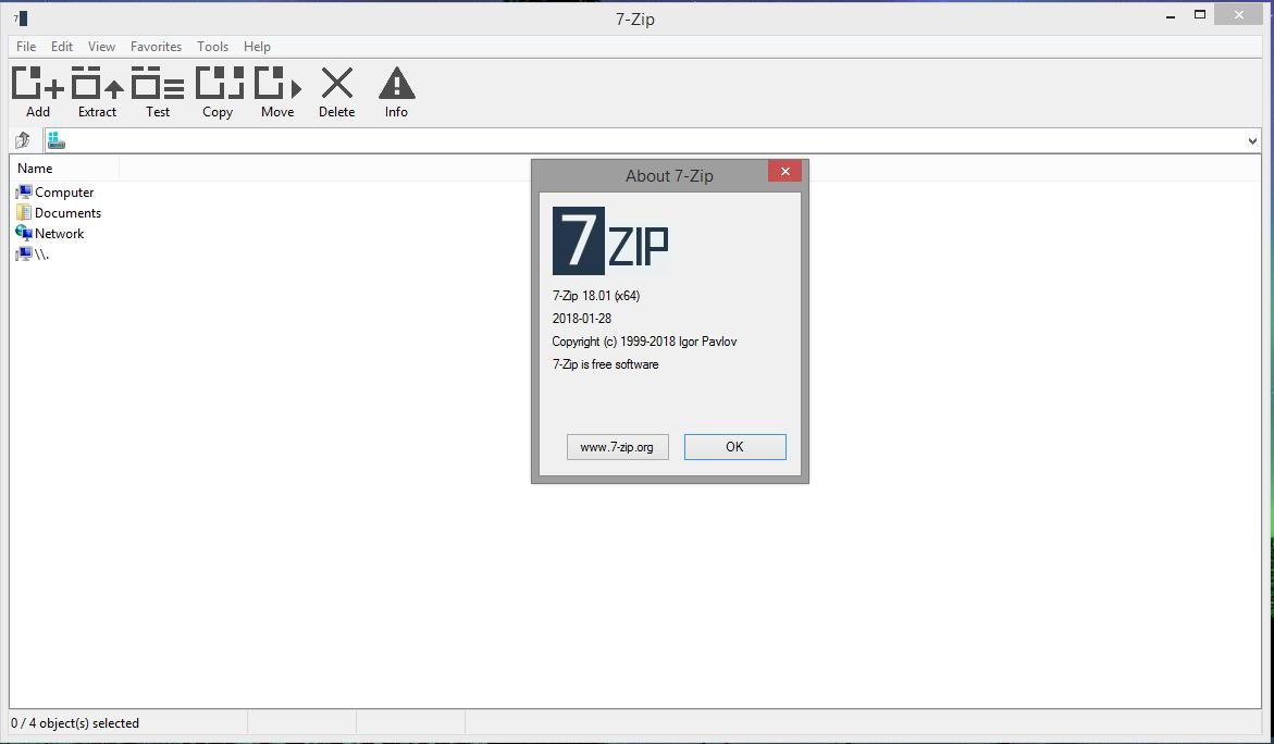7-Zip 19.00 (32/64 bit) Desatendido  Multilingual 4451043FlattrMono_theme