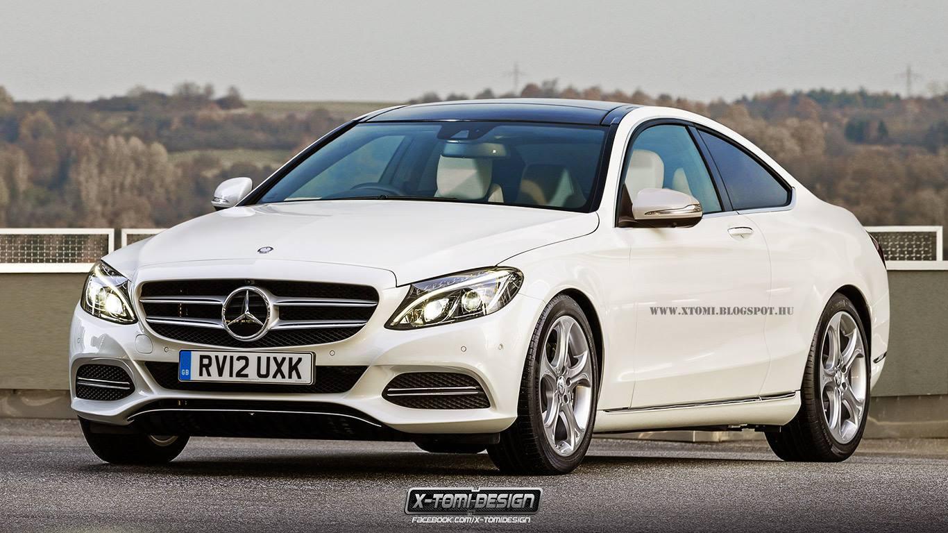 (C205): Flagras e informações  C-class-coupe-c205-gets-more-accurate-rendering-73402_1