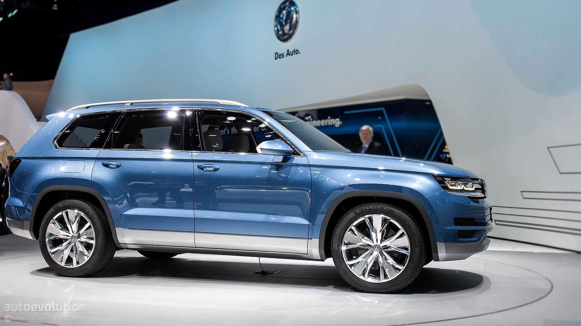 2017 - [Volkswagen] Atlas / Teramont - Page 5 2013-naias-volkswagen-crossblue-concept-live-photos_10