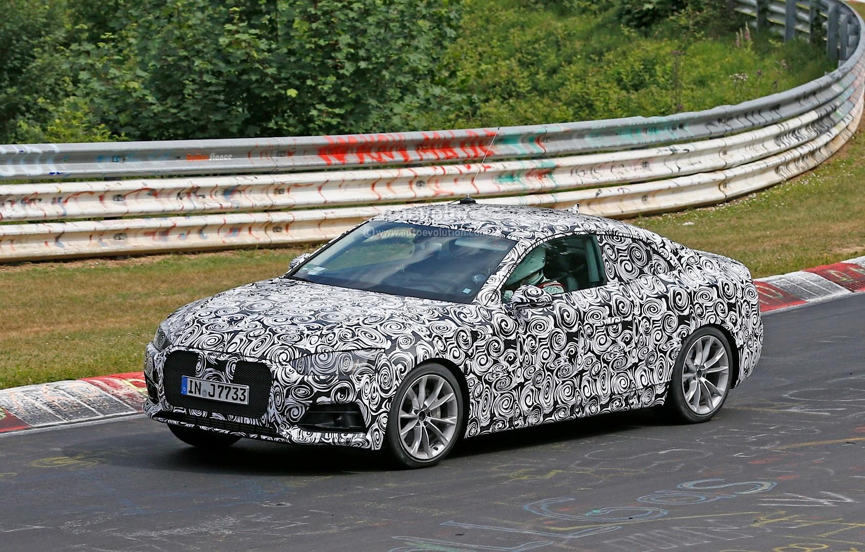 2016 - [Audi] A5 Coupé, Cabriolet et Sportback - Page 3 Spyshots-2017-audi-a5-coupe-begins-nurburgring-testing_3