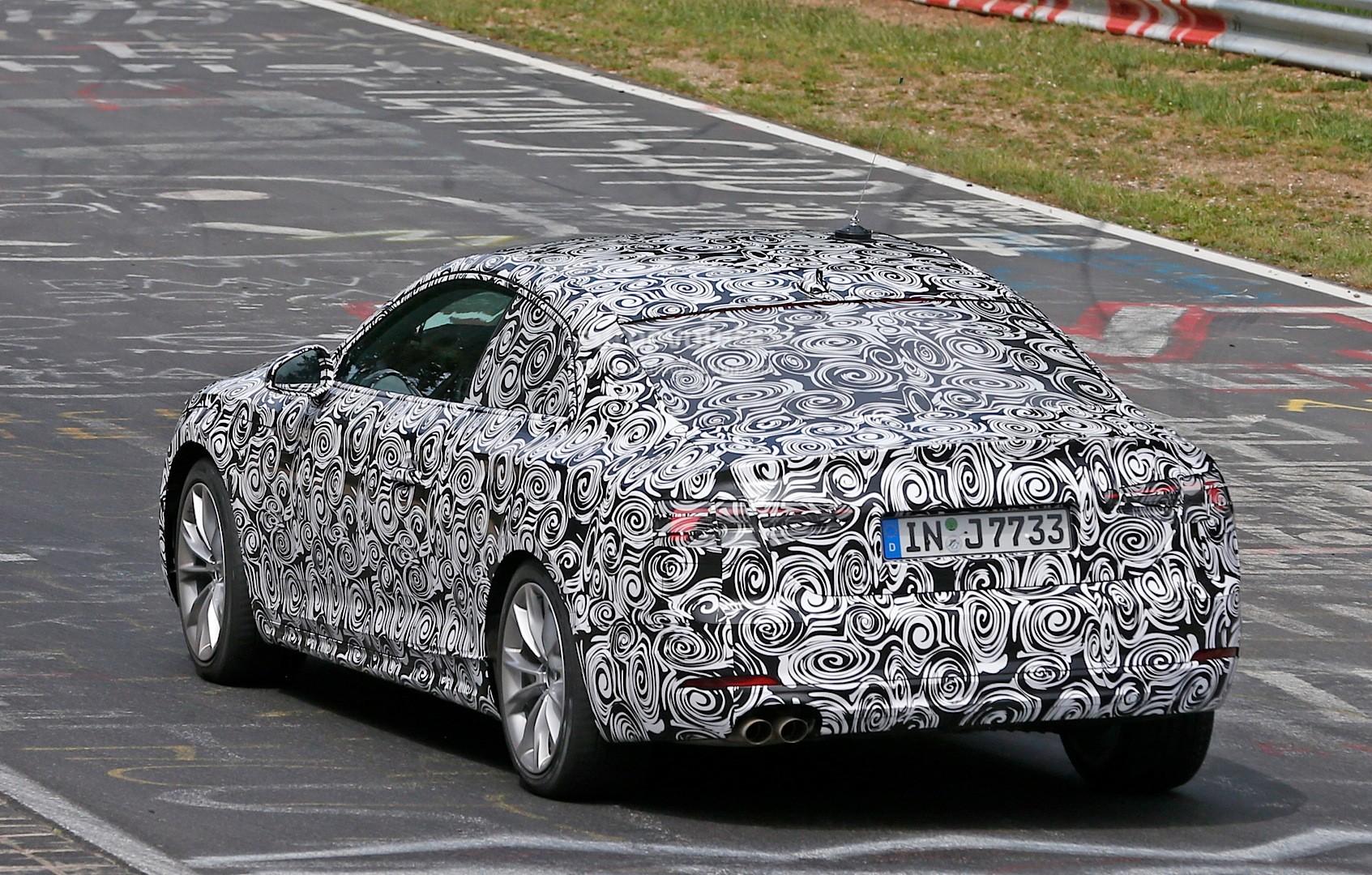 2016 - [Audi] A5 Coupé, Cabriolet et Sportback - Page 3 Spyshots-2017-audi-a5-coupe-begins-nurburgring-testing_8