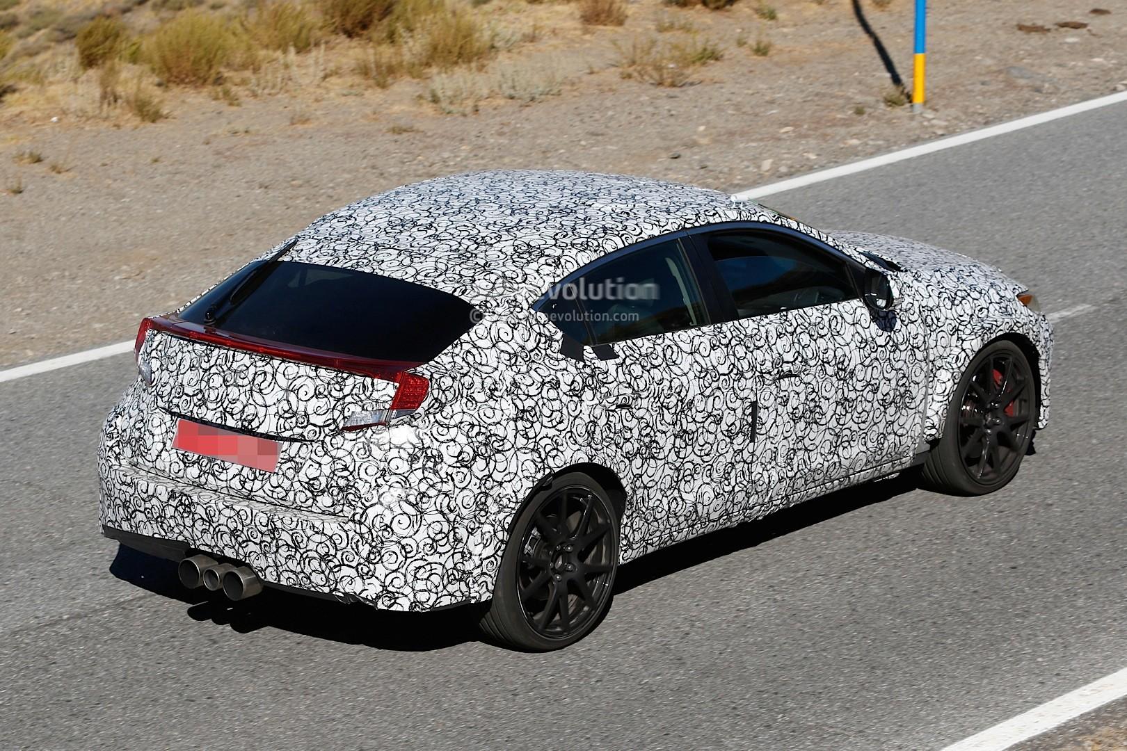 2017 - [Honda] Civic Hatchback [X] Spyshots-2017-civic-type-r-sedan-spied-with-ferrari-like-exhaust-in-the-us_4