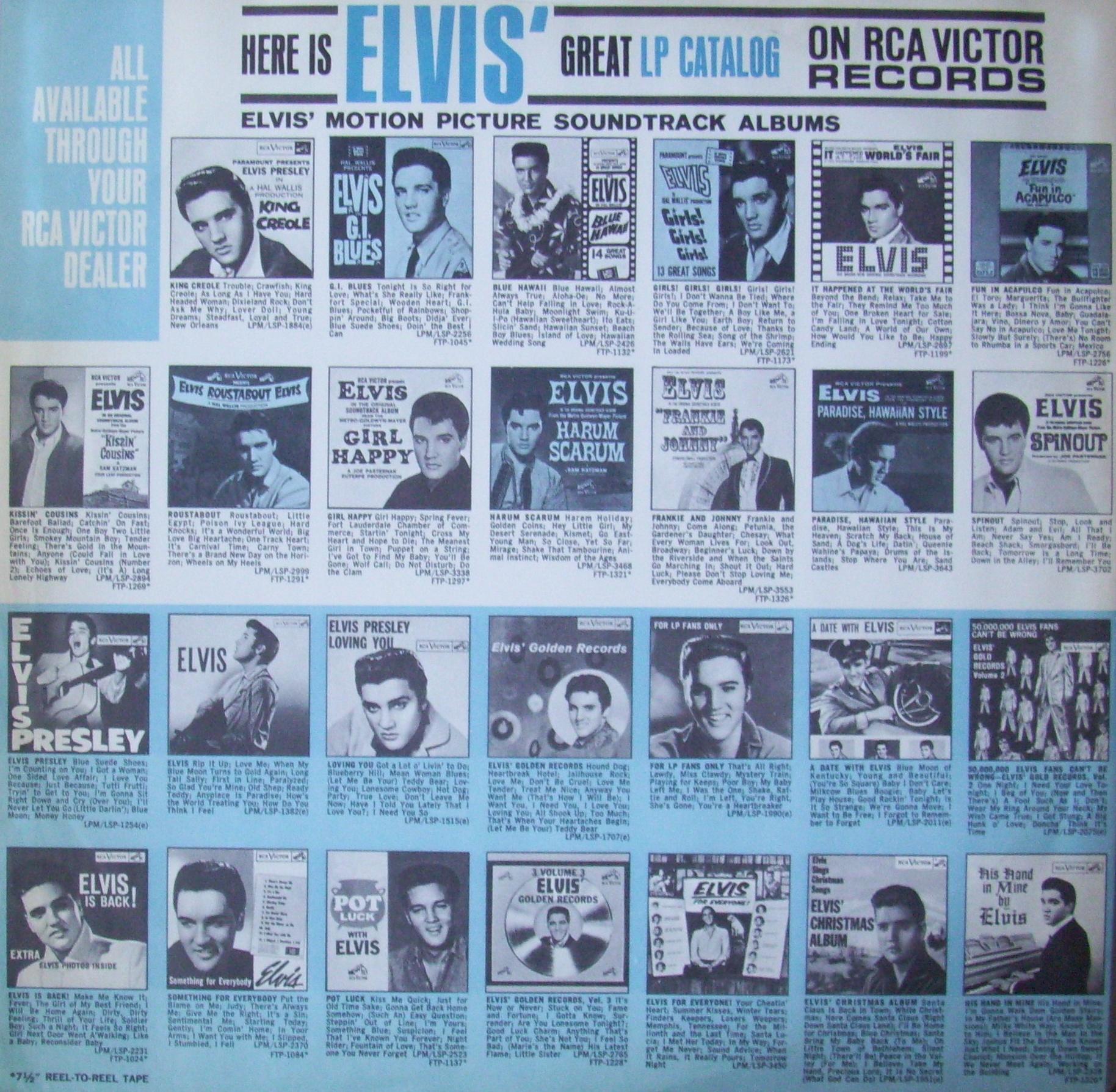 ELVIS' GOLD RECORDS VOL 4 8mh78qwq