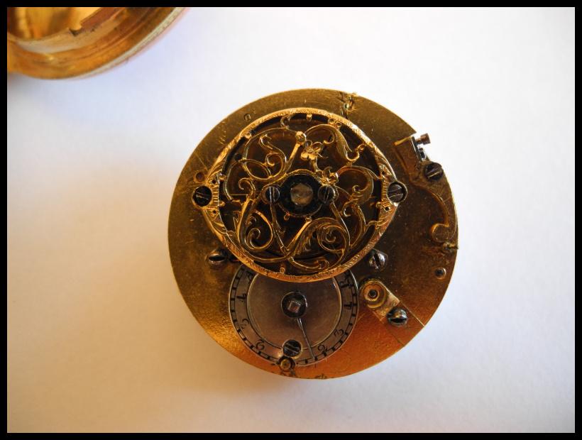 Leton Verge Fusee Pocket Watch Case Hallmark???? Yz7kzst8