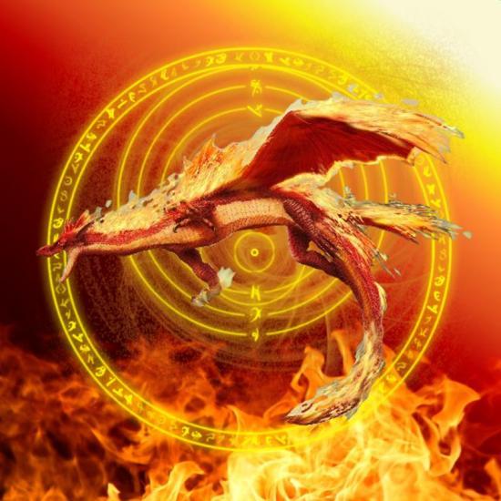 Images heroic fantasy ou futuriste 28657293fire-dragon-jpg