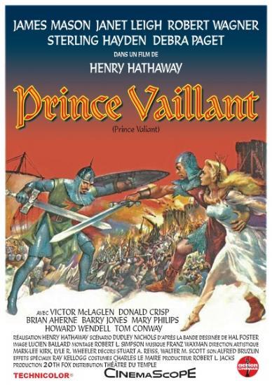 Bandes dessinées au Cinéma - Curiosités - Page 2 80789739affiche-prince-vaillant-prince-valiant-1953-2-jpg