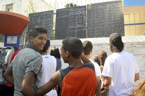 أزيد من 450 ألف مرشح يجتازون امتحانات الباكالوريا لـ2012 Bac2011july_779089760