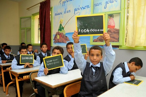 دراسة: التلاميذ المتفوقون أصبحوا عملة نادرة بالمغرب Elevesmaroc_492479122
