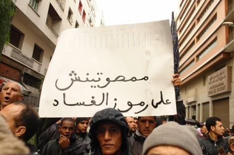 آلاف المغاربة يتظاهرون للمطالبة بمقاطعة انتخابات 25 نونبر Fassadnew_191775248