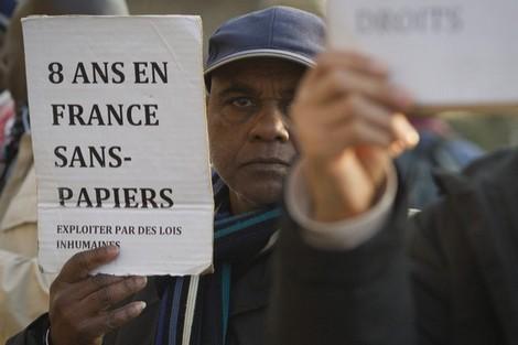 السلطات الفرنسية تسعى لإبرام اتفاقات لاحتواء تدفق المهاجرين Immigre_823538018