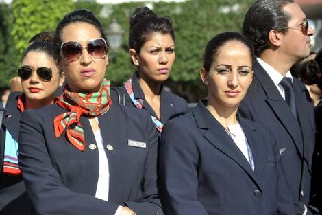 """مستخدمون بـ""""لاَرَام"""" يحتجّون على """"العطالة الإجبارية"""" قبالة البرلمان Larammounir_190090779"""