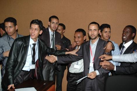 الطلاب الموريتانيون في المغرب يحتجون على منعهم من التسجيل Mauritanianew_696871200