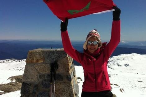 المغربية مريم بورجة تنجح في تسلق جبل كوشيوسكو بأستراليا Meriemborja_705524676