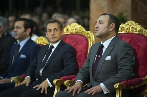 الملك يختار التواجد بفرنسا طيلة فترة الحملة الانتخابية Sarkozym6_821967321