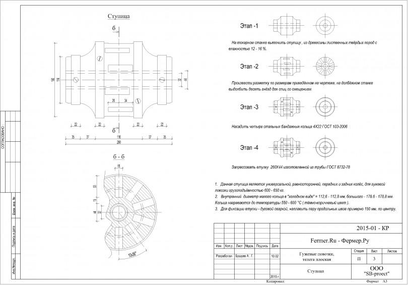Чертежи для изготовления гужевой повозоки  6243b4a8863d1c2787d444660f8185b6