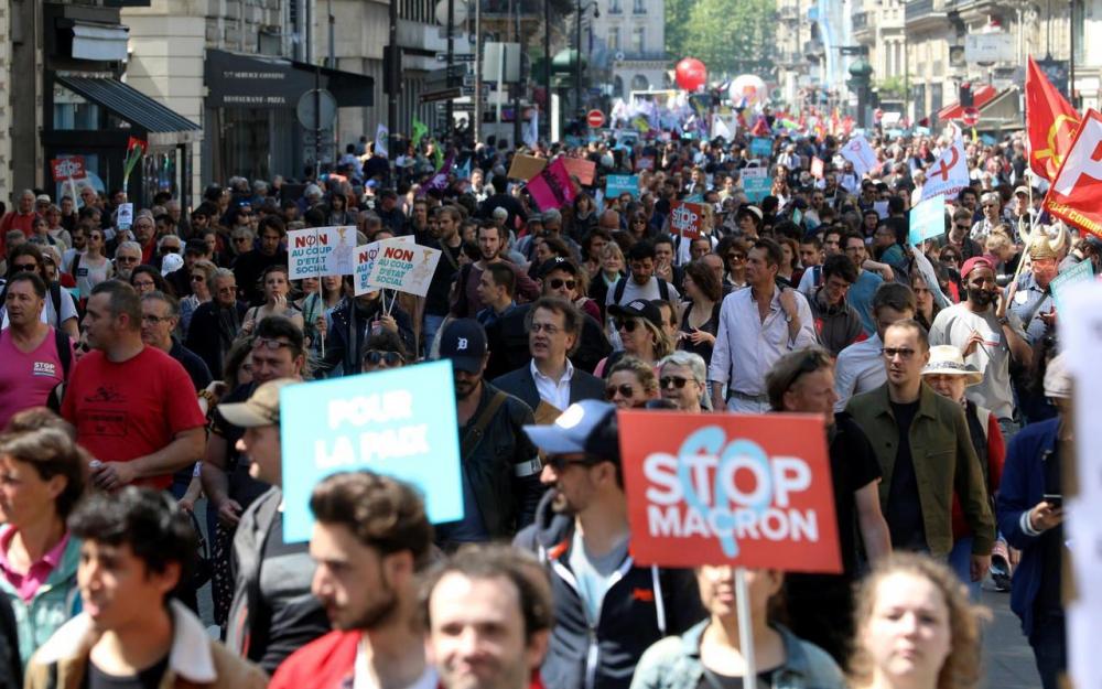 Convergence des luttes. Appel au 5 mai. La Fête à Macron !  7700175_6d26fd7e-506f-11e8-90dd-b48d9fa32216-1_1000x625