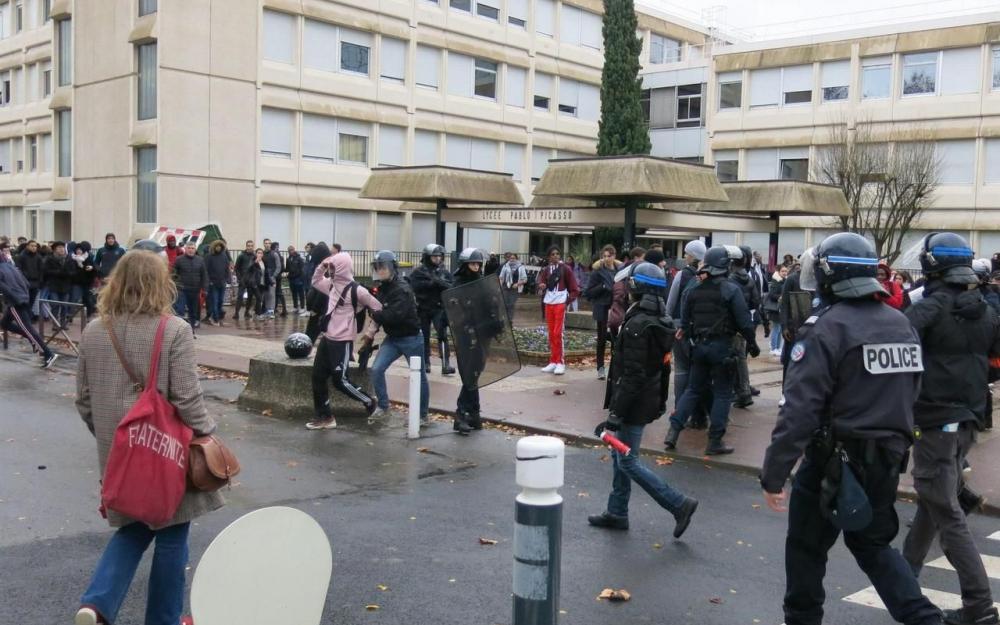 Lycée Pablo-Picasso - Agitation lycéenne 7965120_1c5e87ba-fc9d-11e8-9522-2853a77f24d4-1_1000x625