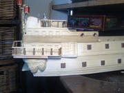 40-gun Old Glory man o' war ship Bild0611