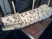 40-gun Old Glory man o' war ship Bild0632
