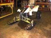 Skidor på en quad ATV EweT0-3e6832a018f4f22448c80b4dfba03b0b