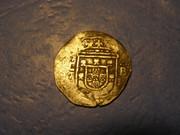 100 reales (tostão). Felipe II de Portugal/ III de España. Lisboa. P1030104