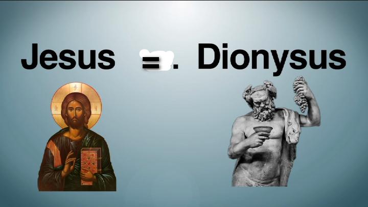 Jésus et Dionysus Rrrtrtrt