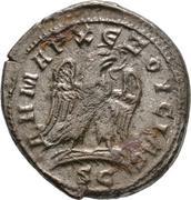 Tetradracma de Trajano Decio. Águila estante a dcha. Ceca Antioquía (Siria). 57-24
