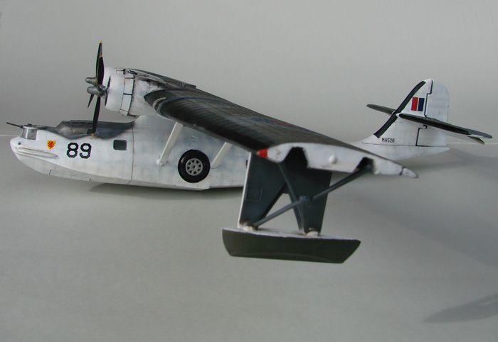 PBY-5A Catalina, REBUILD ,Airfix, 1/72 DSC04309