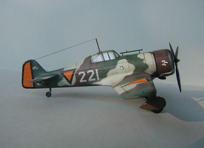 Fokker D.XXI, MPM, 1/72 DSC04174