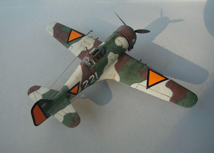 Fokker D.XXI, MPM, 1/72 DSC04175