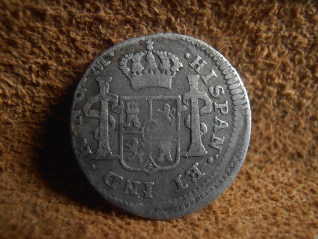 1/2 Real 1817. Fernando VII. Guatemala. NG P9080002