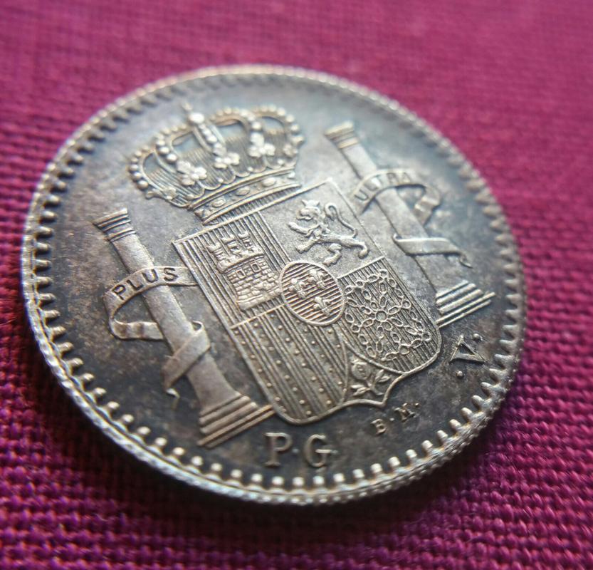 5 centavos 1896. Alfonso XIII. Puerto Rico. Fleky dedit. A28257_B3-99_E3-45_BF-_A57_E-_AE83_A687_BBB6